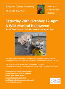 A Wild Musical Halloween