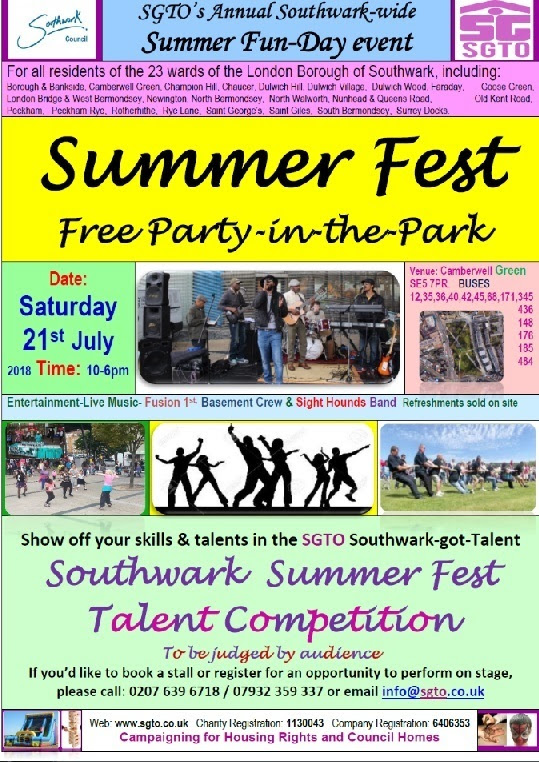 Sumer Fest on Camberwell Green - SE5Forum